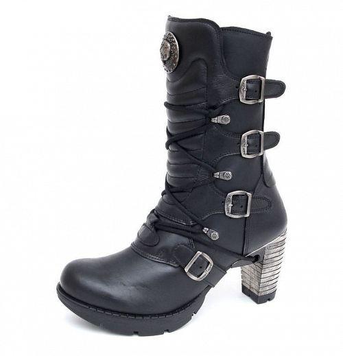 topánky NEW ROCK - TR003-S1 - Itali Negro