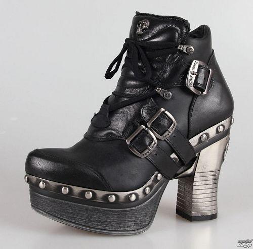 topánky NEW ROCK - Z010-C1 - Itali Negro