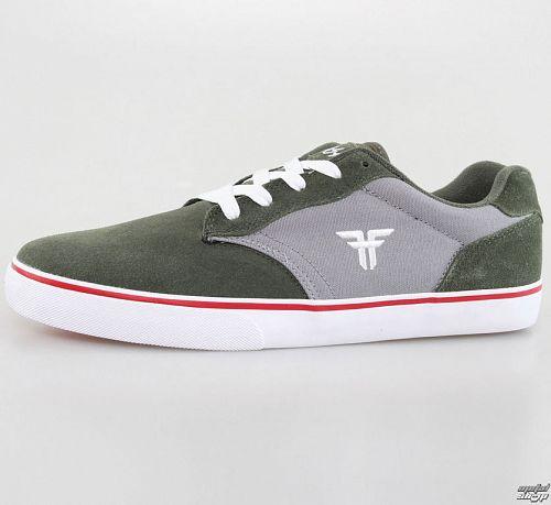 topánky pánske FALLEN - Slash - Surplus Green / Cement Grey