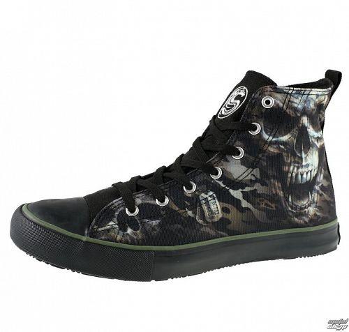 topánky pánske SPIRAL - CAMO-SKULL - Tenisky - T141S001