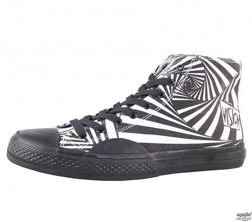 topánky pánske VISION - Canvas HI - Black/White - VMH2FW201