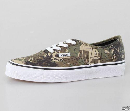 topánky VANS - Authentic (Star Wars) - Boba - VW4NDJH