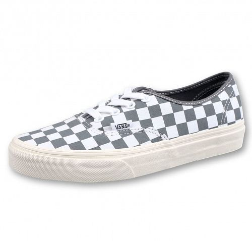 topánky VANS - UA Authentic (CHECKERBOARD) - Pewter / Mar - VN0A38EMU531