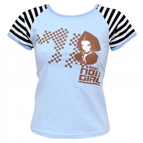 tričko dámske Girl 6 - ZAKR, NOIZZ