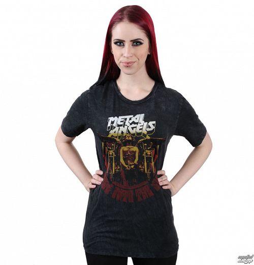 tričko dámske METAL MULISHA - ANGELS WASHED - SLT_FA7718019.01