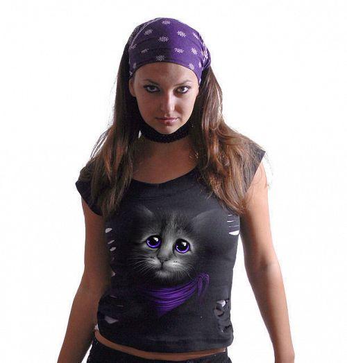 tričko dámske SPIRAL - Love Me - FM120157