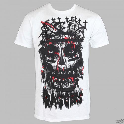 tričko EXHIBIT A GALLERY - Daggers - Kryst The Conqueror - White