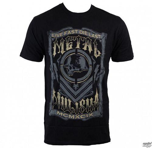 tričko pánske METAL MULISHA - Die Last - BLK