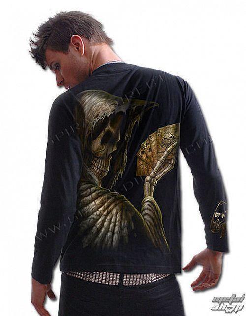 tričko pánske s dlhým rukávom SPIRAL - Dead Mans Hand - TR 229700