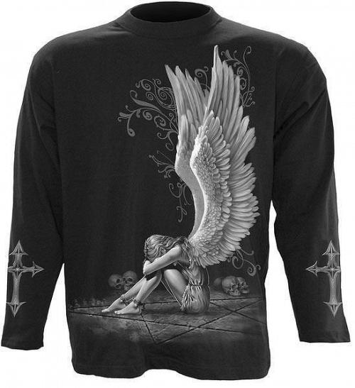 tričko pánske s dlhým rukávom SPIRAL - Enslaved Angel - DT195700