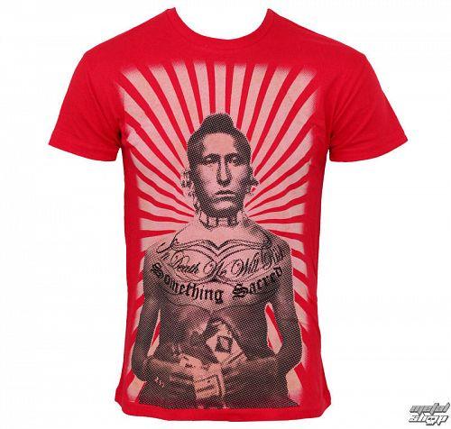 tričko pánske SOMETHING SACRED - Brave - SSM-27 - RED