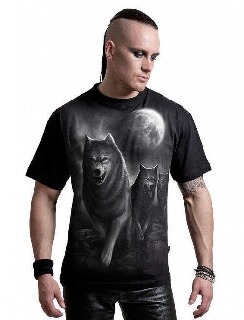 tričko pánske SPIRAL - Wolf Pack Wrap - DT206600