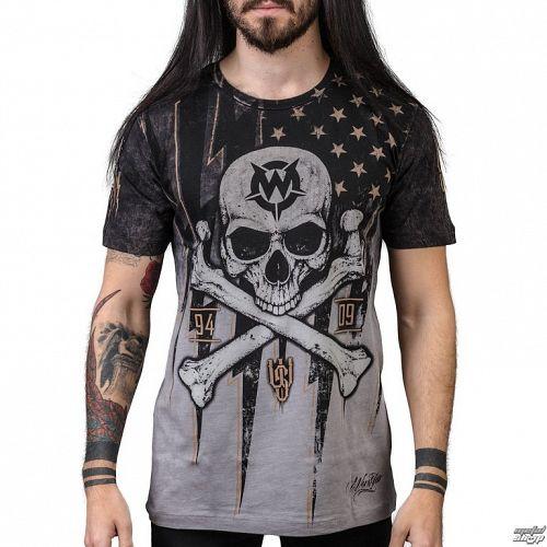 tričko pánske WORNSTAR - Black Flag - WSUS-BFLG