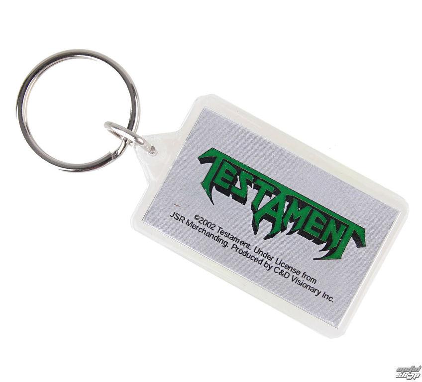 08d2f8097 kľúčenka (prívesok) Testament - Logo - K-0387 | Rock fashion