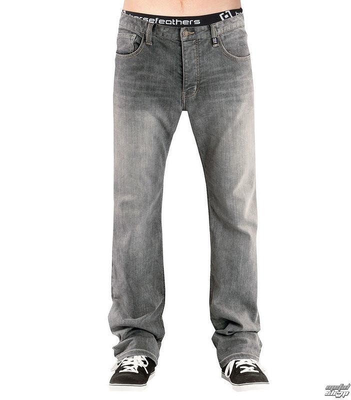 nohavice pánske (jeans) HORSEFEATHERS - TRUCK LIGHT - GRAY DENIM ... c59a7bc075