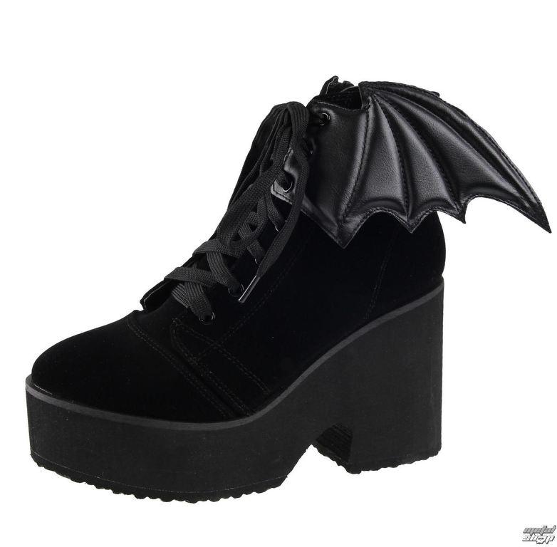 8a05de249c2d topánky dámske IRON FIST - 70751IFLLIC-Black Velvet