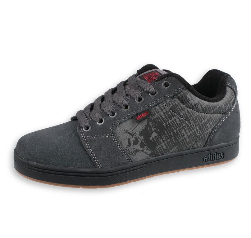 topánky ETNIES - Metal Mulisha - Barge - DARK GREY   BLACK   RED - 10047980 e103e17ae8b