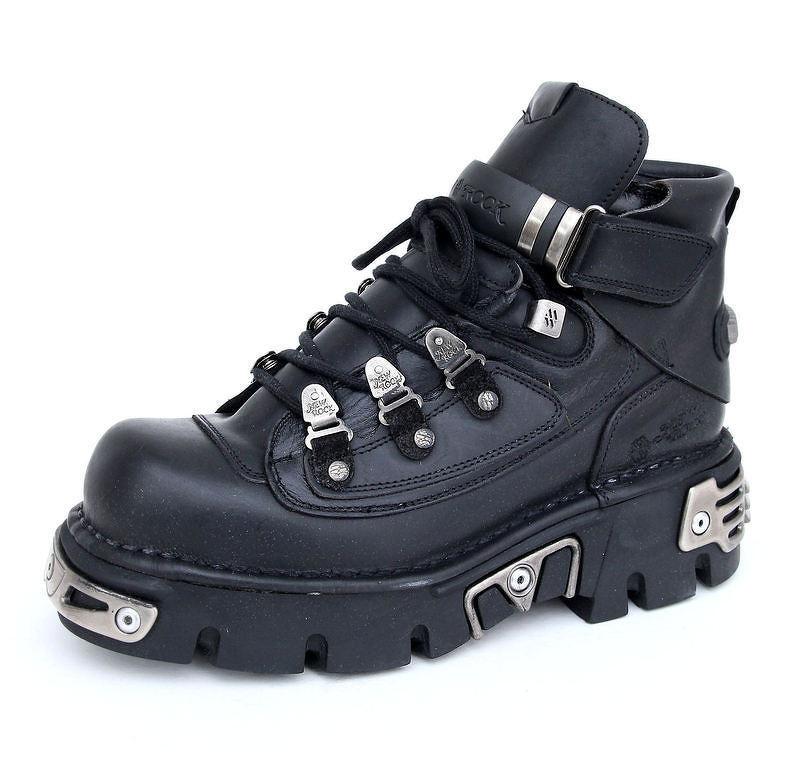443bca50d10f topánky NEW ROCK - 654-S1 - Itali Negro