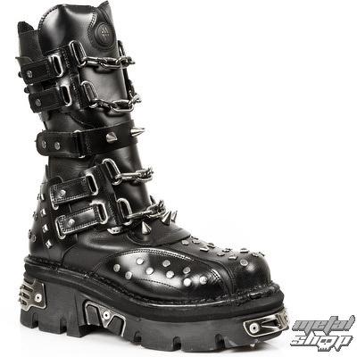 293ab52d0500 topánky NEW ROCK - 799-S1 - Pulik E Itali Negro