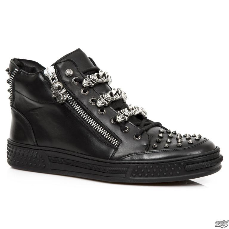 e12afa5e8468 topánky NEW ROCK - NOMADA PISA NEGRO - M.PS040-S1