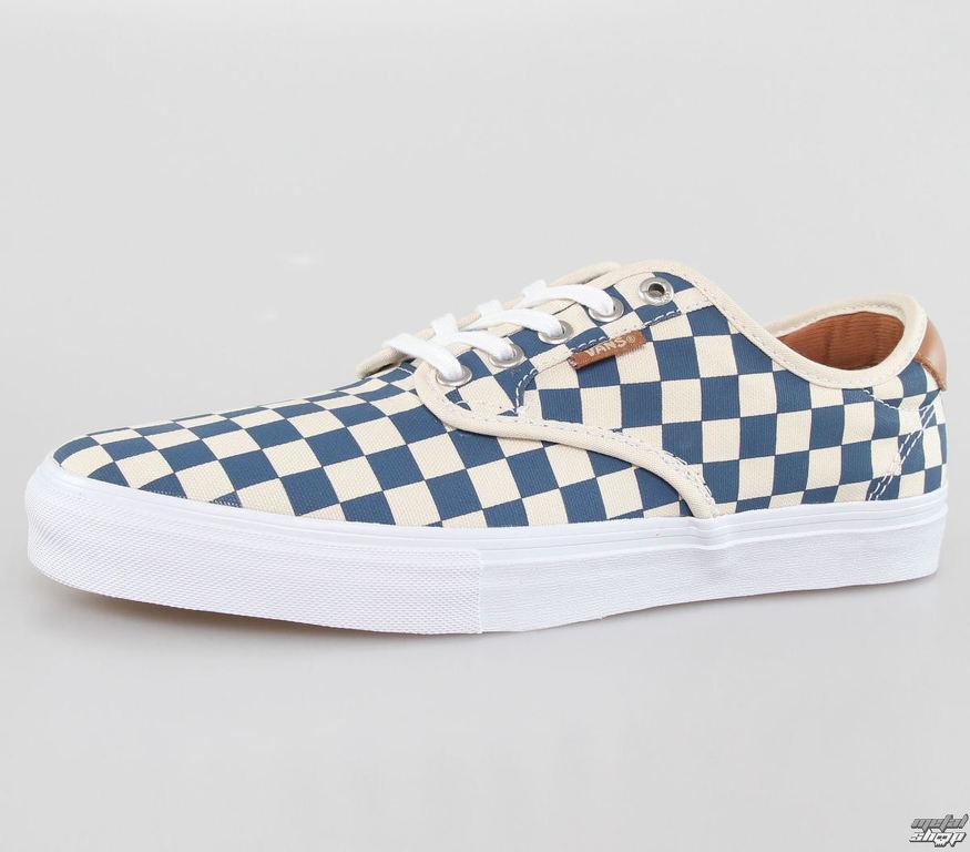 81b41aa7d95 topánky pánske VANS - Chima Ferguson Pro (Checkerb Board) - Tan   Blue -