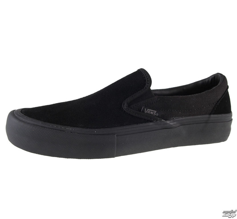272e65283c topánky pánske VANS - SLIP-ON PRO - Blackout - V97M1OJ