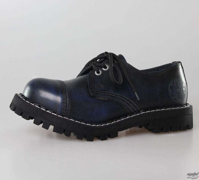 topánky STEEL - 3 dierkové modré (101 102 Blue)  d8d07cc9f6b