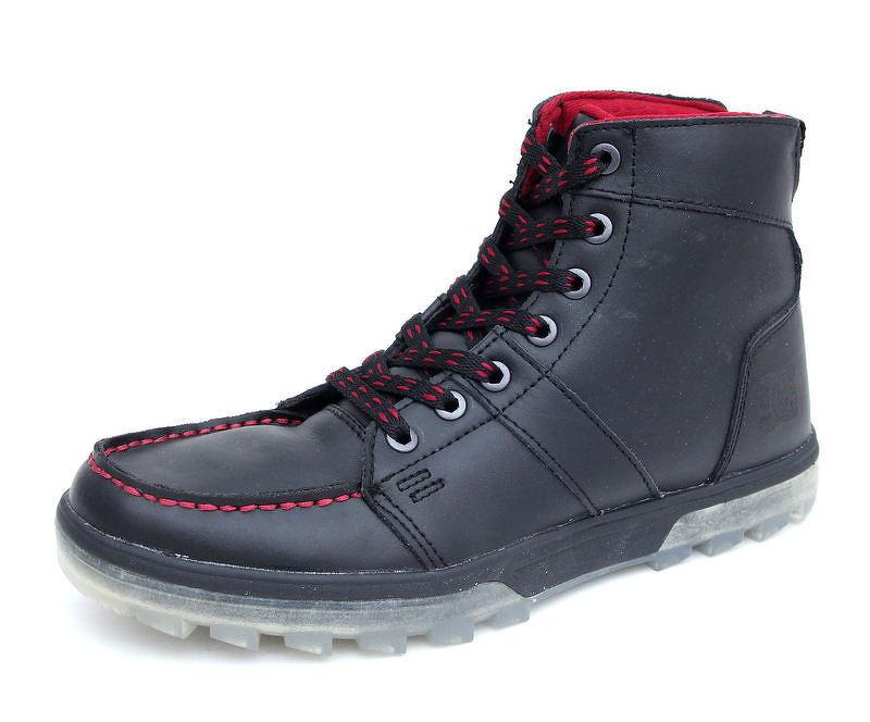 topánky zimný pánske DC - Woodland So - BLACK-RED  f639f928586