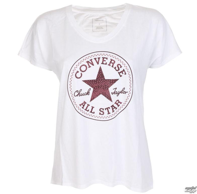 tričko dámske CONVERSE - Dot Camo CP Fill - 10005387-A02  2381098c572