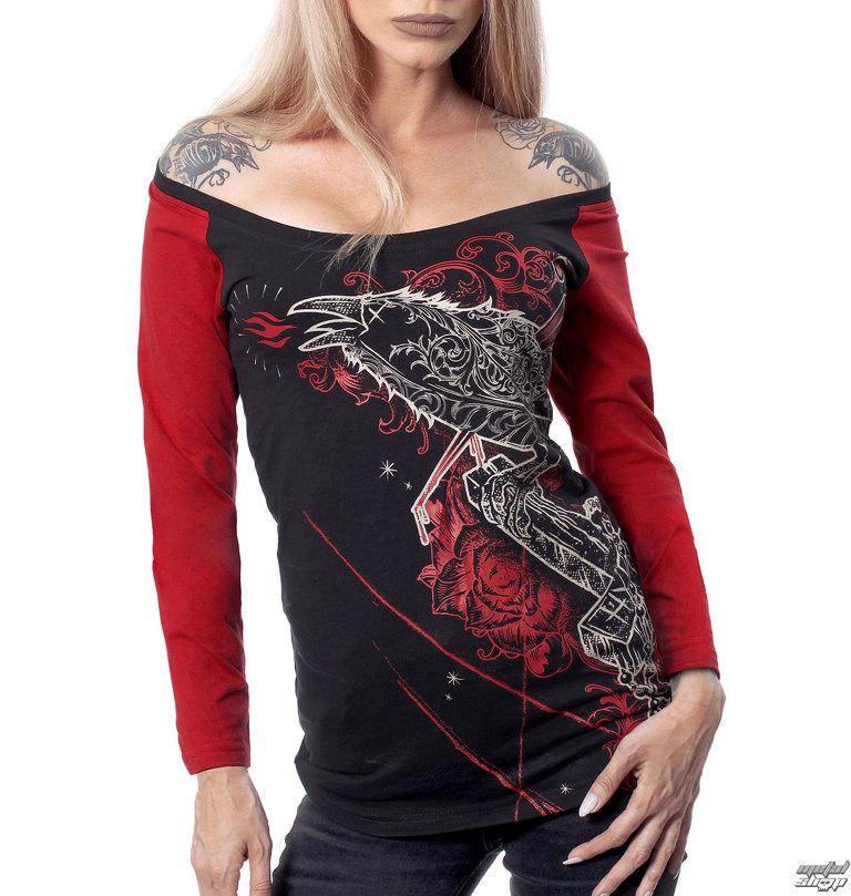 a4b94093643b tričko dámske s dlhým rukávom HYRAW - BEHIND - HY269