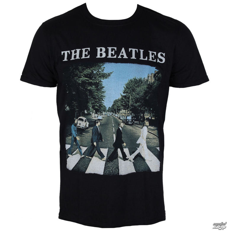 1cc9ac128cfd tričko pánske Beatles - Abbey Road   Logo - BEATTEE46MB