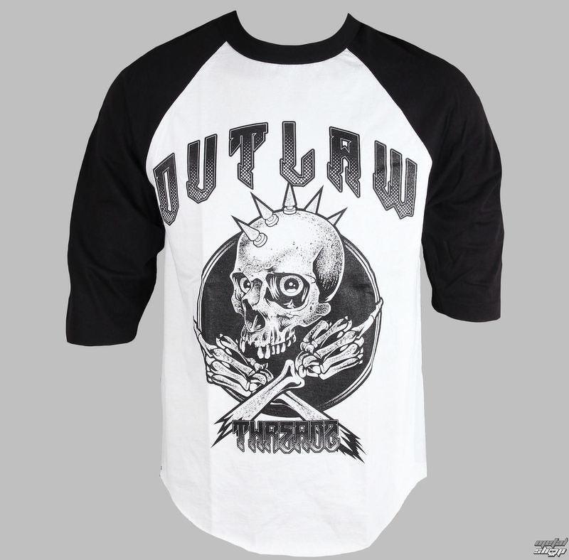 ca3feec5d0d2 tričko pánske s 3 4 rukávom Outlaw Threadz - Rebel - MR02