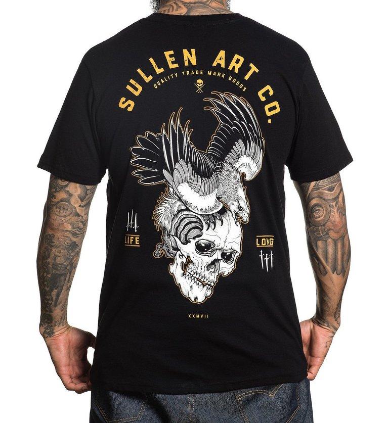 fe386796a355 tričko pánske SULLEN - BLAQ EAGLE - BLACK - SCM1693 BK