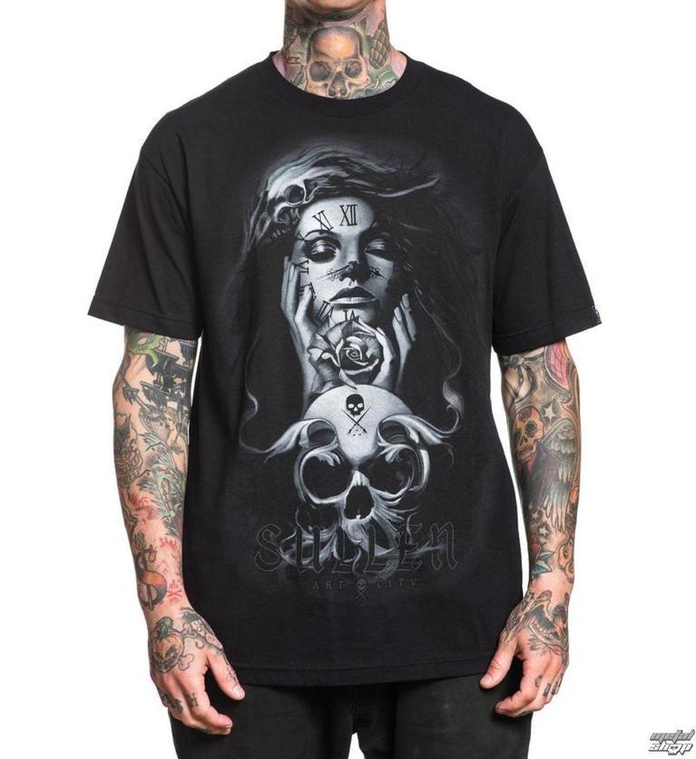 01e37e3250c8 tričko pánske SULLEN - CLOCKWORK - BLACK - SCM1503 BK