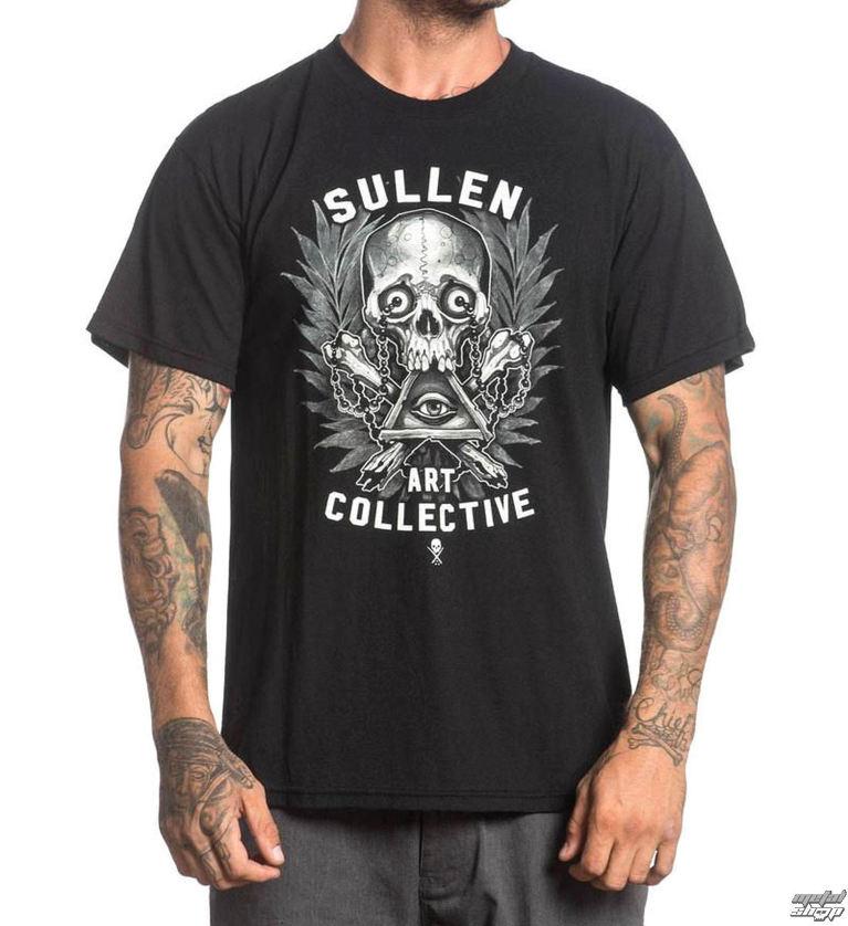 e91939133e98 tričko pánske SULLEN - HOLMES BADGE - BLACK - SCM1008 BK